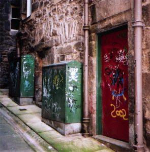 Street, Edinburgh, Scotland